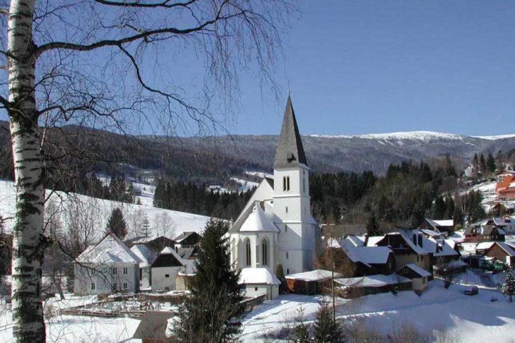 Ortsansicht von Hirschegg.
