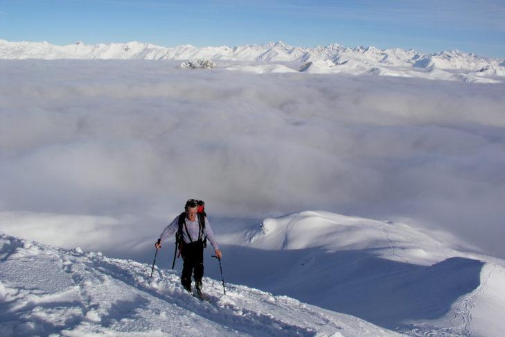 Eine schöne Abwechslung: Winterwandern rund um Kartitsch.