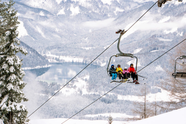 Klein aber fein: Das Skigebiet Mariazeller Bürgeralpe.