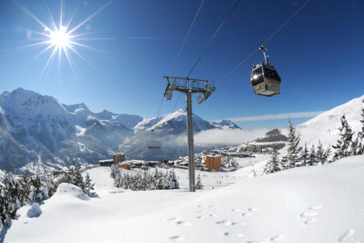 Das Skigebiet Orcières profitiert beim Wetter von mediterranen Einflüssen.