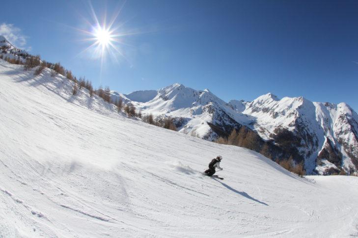 Das Skigebiet Les Orres liegt unweit des Nationalparks Écrins.