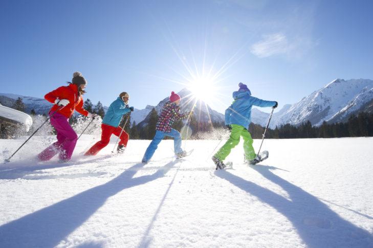Schneeschuhwandern rund um Pertisau.
