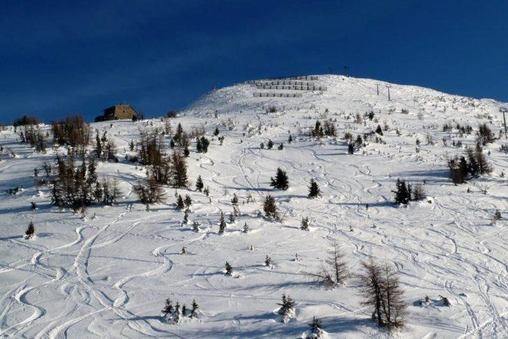 Skigebiet Patscherkofel: Zahlreiche Hänge bieten sich zum Freeriden an.