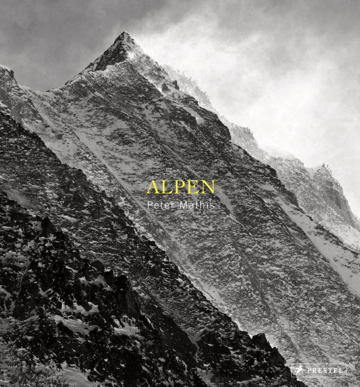 """Bildband """"Alpen"""" von Peter Mathis, 2017."""