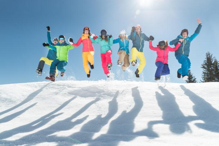 Skiurlaub gibt's auch günstig!