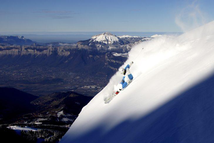 Beeindruckendes Panorama vom Skigebiet Les 7 Laux aus.