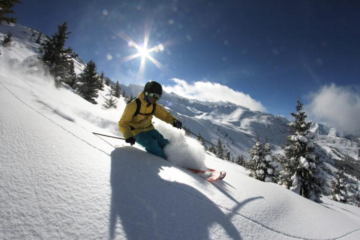 Das Skigebiet Les 7 Laux liegt nur wenige Kilometer von Grenoble entfernt.