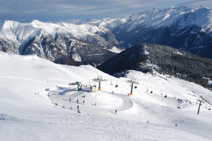 Liftstation im Skigebiet Rosskopf.