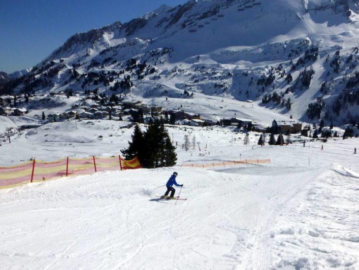 Das Skigebiet Skiregion Oberlungau eignet sich besonders auch für Kinder.