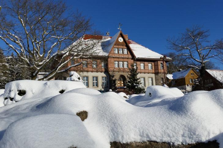 Historisches Rathaus in Schierke-Wernigerode.
