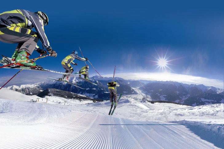 Skigebiet Rosskopf: Auch wagemutige Fahrer kommen auf den breiten Pisten auf ihre Kosten.