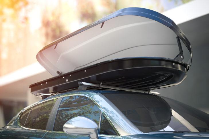 Dachboxen schaffen Platz für Gepäck.