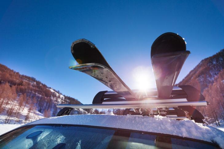 Mit dem Auto in den Skiurlaub - aber sicher!