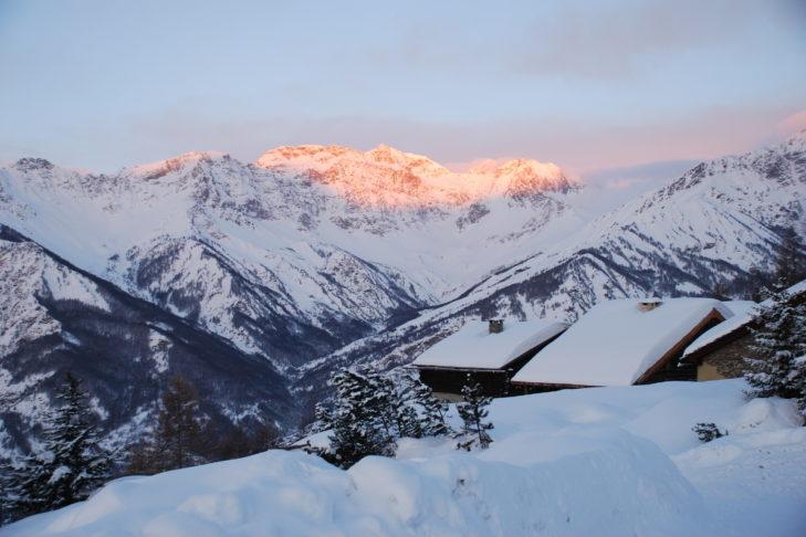 Im Susa-Tal in den italienischen Alpen gelegen: Das Skigebiet Bardonecchia.