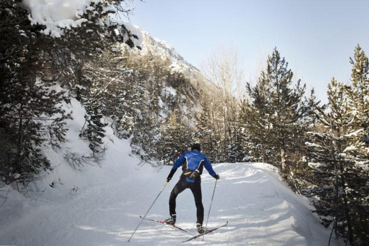 Auch Langläufer kommen rund um Bardonecchia auf ihre Kosten.
