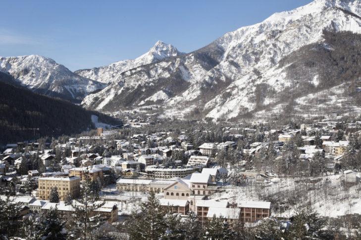 Blick auf Bardonecchia.