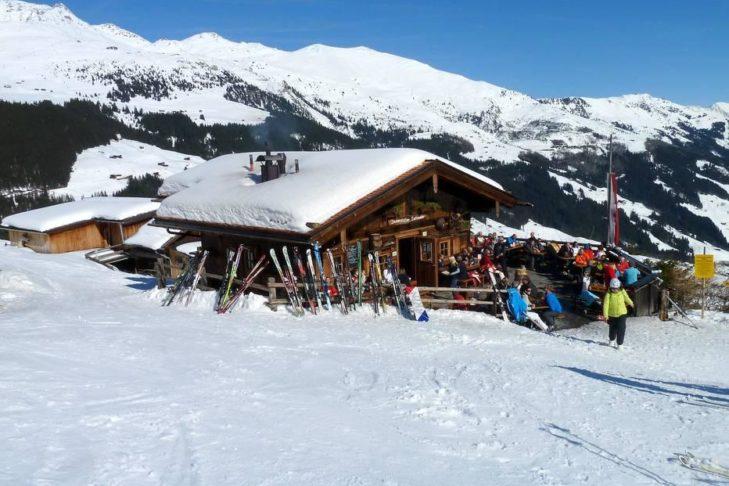 Hüttengaudi im Skigebiet Ski- & Gletscherwelt Zillertal 3000.