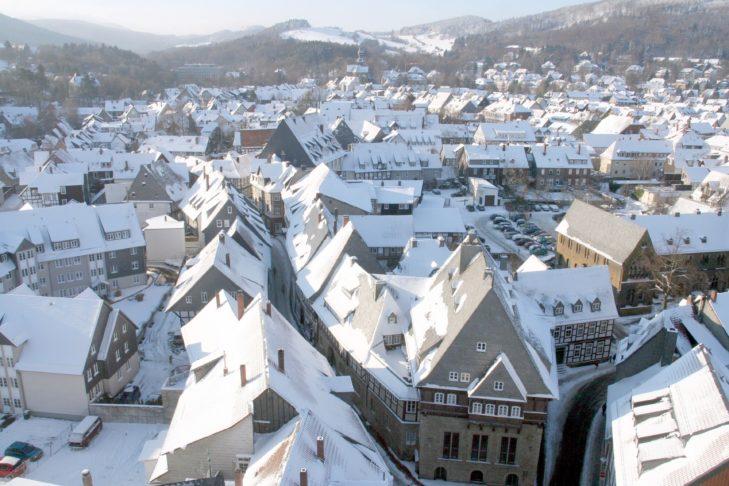 Blick auf Goslar.