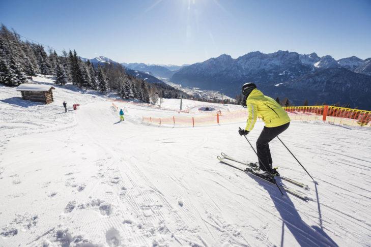 Das Skigebiet Zettersfeld/Hochstein hält Pisten für Könner wie für Anfänger bereit.