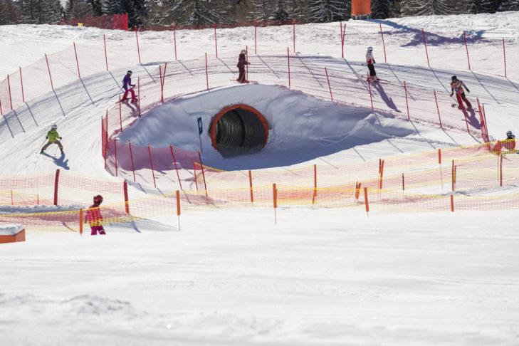Funpark im Skigebiet Zettersfeld/Hochstein.