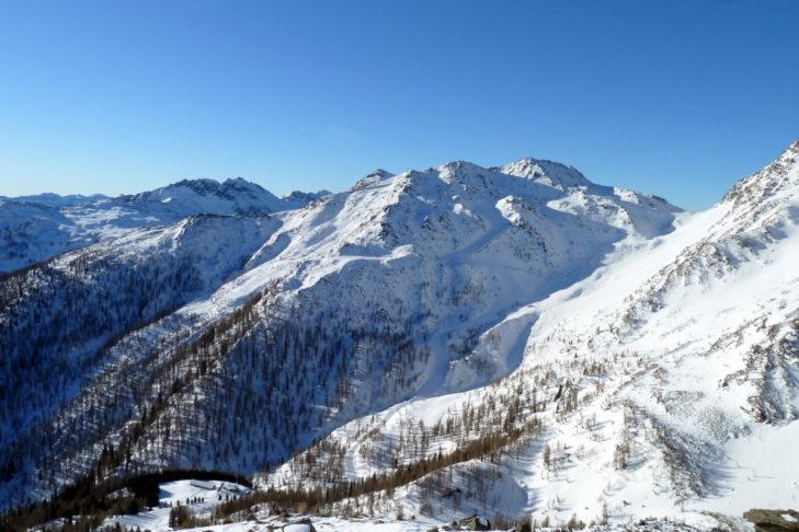 Die Bergwelt rund um San Martino di Castrozza.