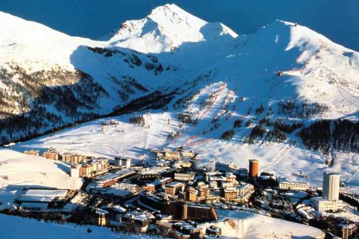 Unterkünfte rund um das Skigebiet Via Lattea.
