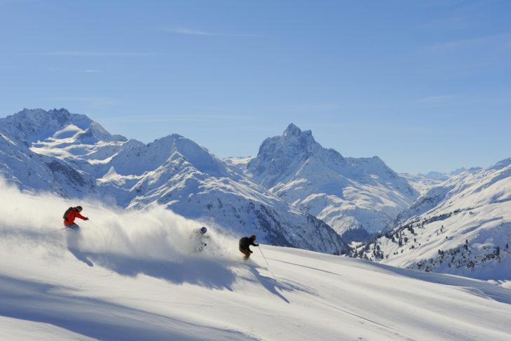 Neuschnee am Arlberg - ein Traum!