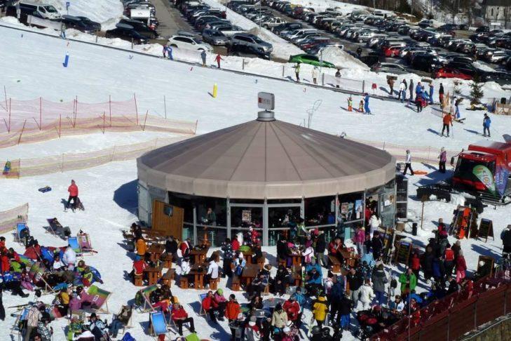 Skigebiet Starý Smokovec: Nach dem Skifahren zum Après-Ski einkehren.