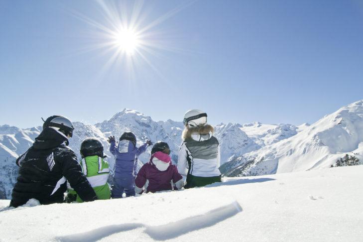 Im Skigebiet Furkel hat die ganze Familie Spaß.