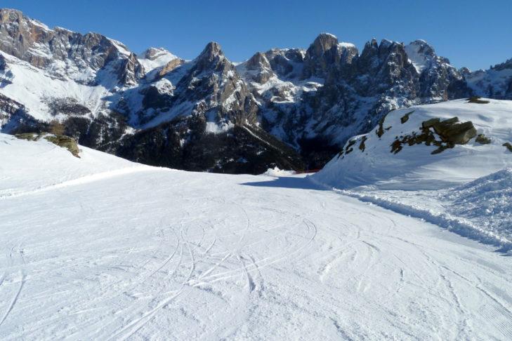 Im Skigebiet stehen ganze 60 Pistenkilometer für die Winterurlauber bereit.