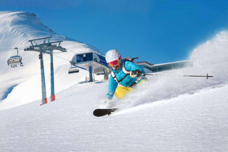 Für Frauen gibt es spezielle Lady-Ski.
