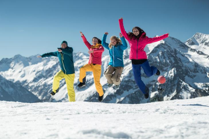 Skifahren macht glücklich!