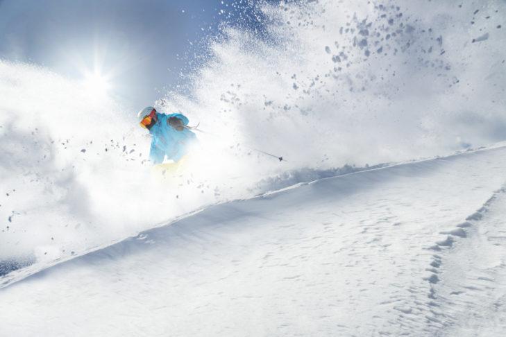 Freeride in den Alpen: Varianten-Abfahrten machen es möglich.