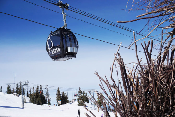 Aspen ist ein besonders beliebtes Reiseziel in den USA.