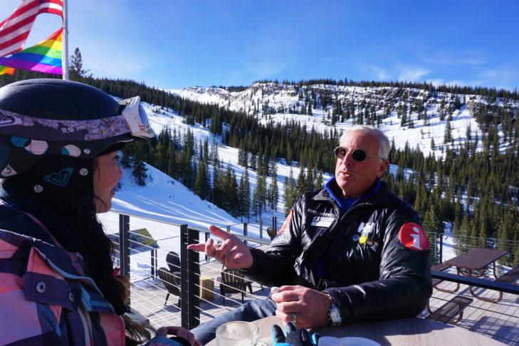Ambassador Guide Steve plaudert über Aspen Snowmass.