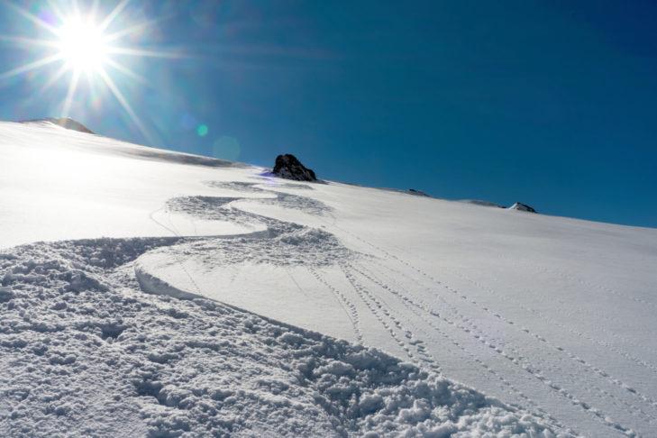 Wie diese Art von Schnee wohl bei den Inuit heißt?