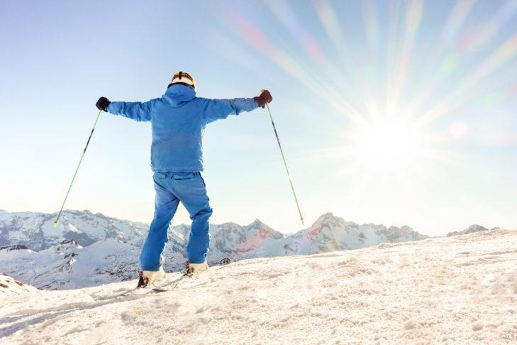 Die Angst vor einer Skiverletzung besiegen - das geht!