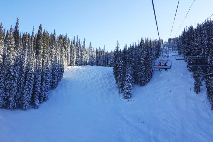 In den USA kann die gesamte Ski Area genutzt werden.