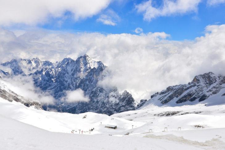 Die wichtigste Frage von Wintersportlern am Morgen: Wie ist das Bergwetter?