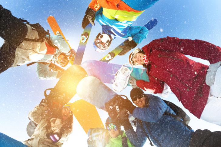 Der Winter kann kommen, wenn der nächste Skiurlaub gebucht ist.