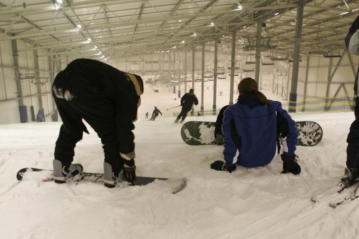 Snowboarden und Skifahren macht überall Spaß!