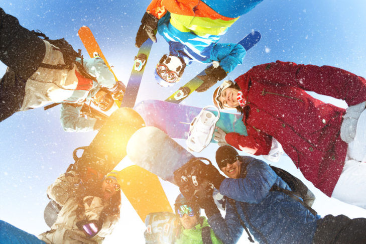 Eine Skigruppenreise bringt viele Vorteile mit sich.