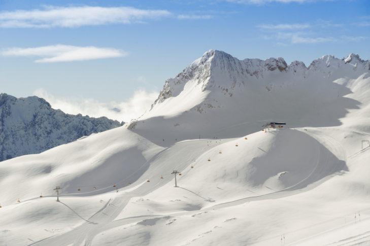 Die Zugspitze ist Deutschlands höchster Berg.