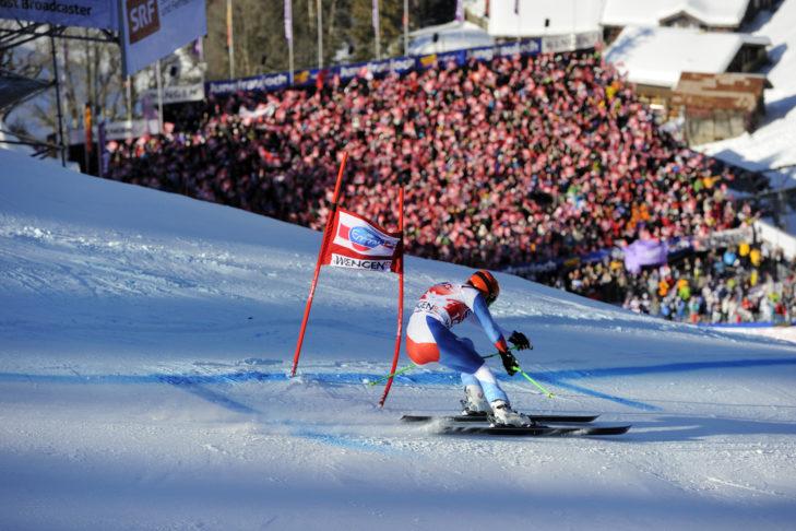 Im Schweizer Wengen steigt das Lauberhornrennen - ein absolutes Top-Event unter den Ski-Wettkämpfen.