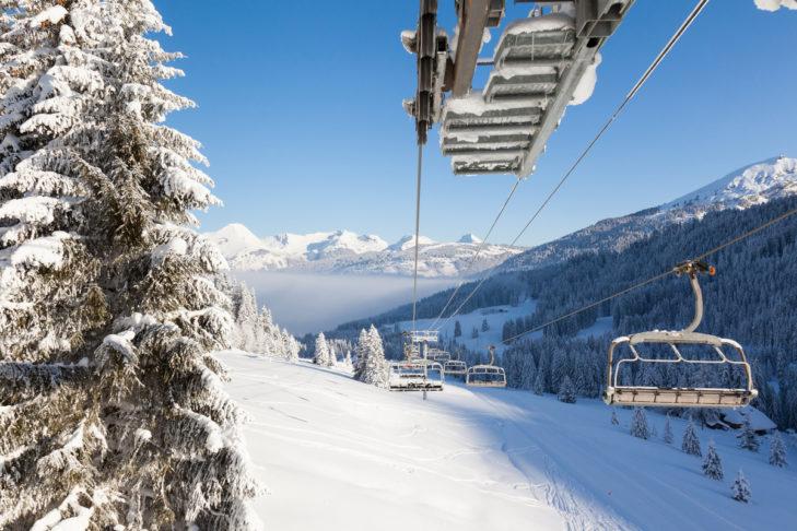 Die Skiregion Les Portes Du Soleil erstreckt sich über gleich zwei Länder.