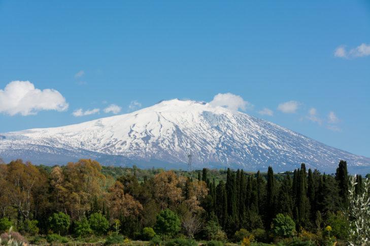 Mal was anderes: Skifahren auf Sizilien.