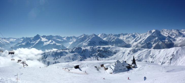 Unendliche Weite in der Skiregion Zillertal.
