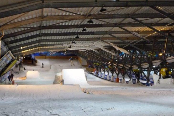 Funpark in der SnowWorld Zoetermeer.