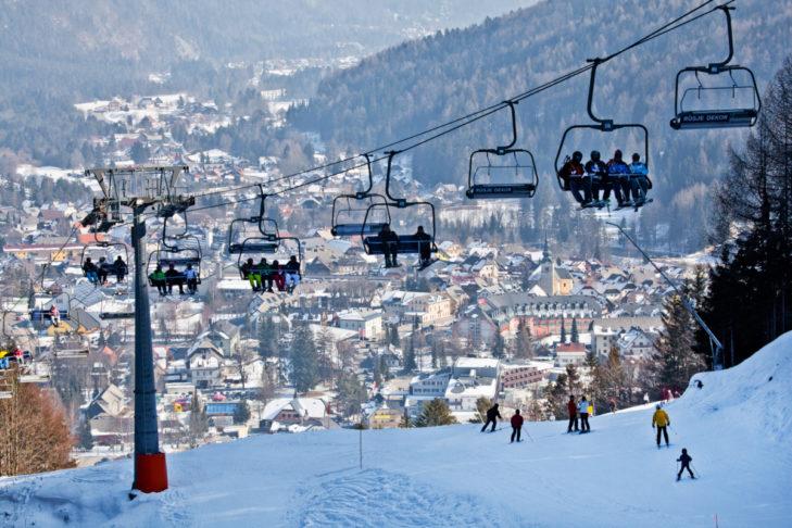 Kranjska Gora gilt als das familienfreundlichste Skigebiet Sloweniens.