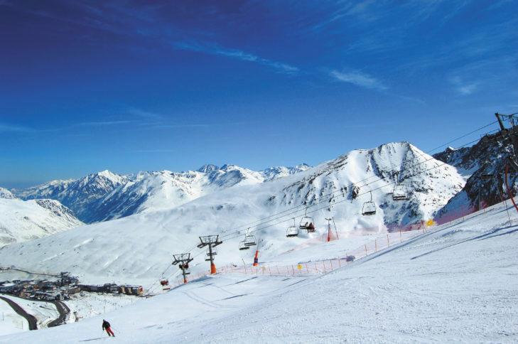 Ein weiterer Vorteil in Andorra - viele Unterkünfte befinden sich direkt an der Piste.